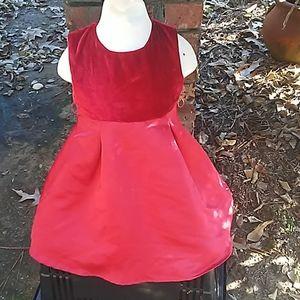 2 dresses, 1 bathing suit, & winter coat size 4t